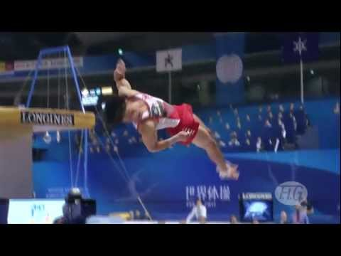 2011 Gymnastics(Uchimura,Komova) X Break Dance (1080p)