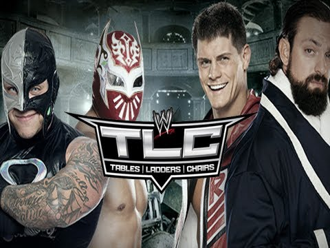 WWE TLC 2012 - Rhodes Scholars vs Rey / Sin Cara #1 Contender! (WWE 13 Machinima)