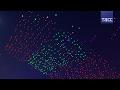В Китае подняли в воздух 1000 дронов во время Праздника фонарей в Гуанчжоу
