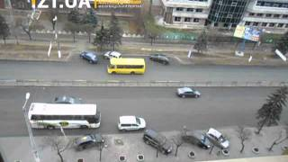 Кортеж Валентины Матвиенко и Владимира Литвина приехал в Житомир