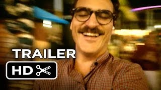 Her Official Trailer (2013) - Joaquin Phoenix, Scarlett Johansson Movie HD