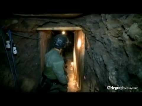 Massive drug tunnel found between Mexico and US