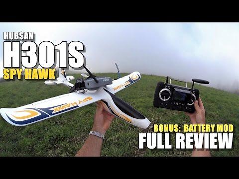 HUBSAN H301S SPY HAWK Review - [Unboxing / Setup / Lipo Mod / Flight-CRASH Test / Pros & Cons] - UCVQWy-DTLpRqnuA17WZkjRQ