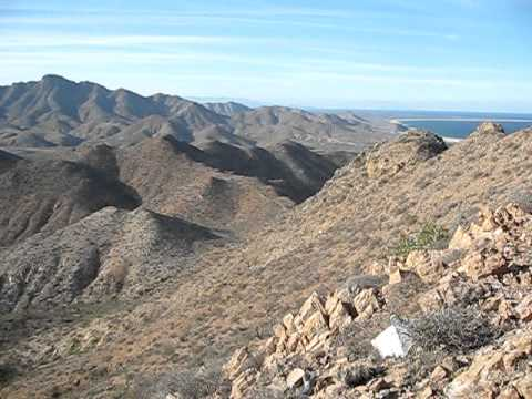 Panorama from the high point of Cabo Pulmo - Baja Mexico.