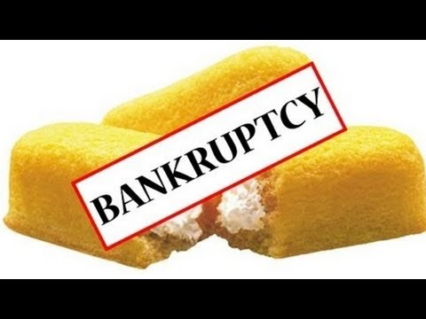 No more Twinkies? Hostess cakes declares bankruptcy