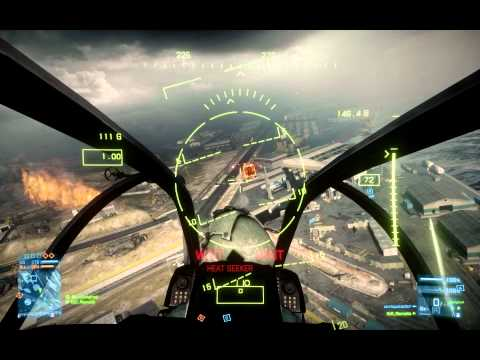 Battlefield 3 AH-Z1 Viper Attack Chopper Ownage.