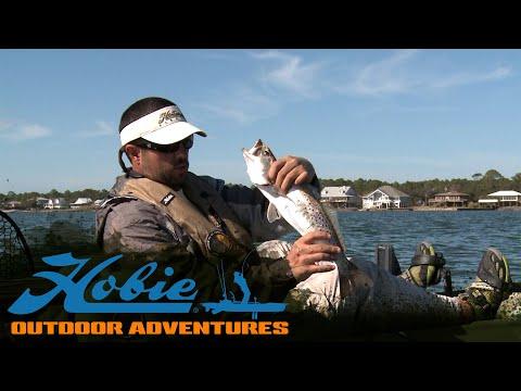 Hobie Outdoor Adventures - Episode 06 - Alabama Winter Fishing/TransparentSea - [ HD ]