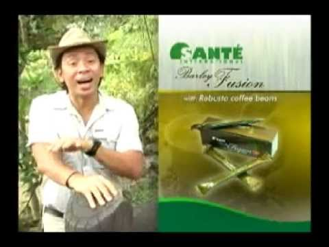 Sante Pure Barley Presentation by Kuya Kim Atienza