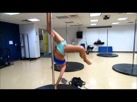 Pole Dancing Progress (3 Months)