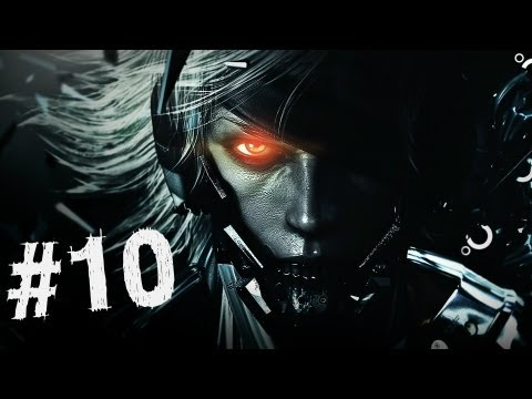 Metal Gear Rising Revengeance Gameplay Walkthrough Part 10 - Jumping Rooftops - Mission 4