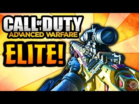 "COD Advanced Warfare: ELITE MORS ""Silver Bullet"" - Rare Supply Drop Sniper Rifle (Call of Duty AW) - unknownplayer03"