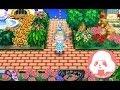 Animal Crossing New leaf QR- Caminos de Ladrillos naturales Set Completo