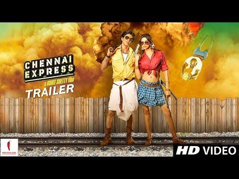 Chennai Express Trailer - Shahrukh Khan, Deepika Padukone