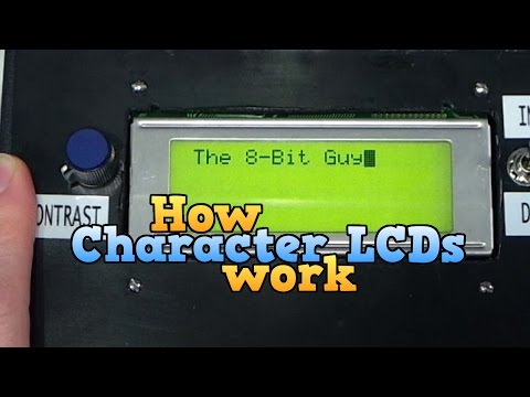How a Character LCD works Part 1 - UC8uT9cgJorJPWu7ITLGo9Ww
