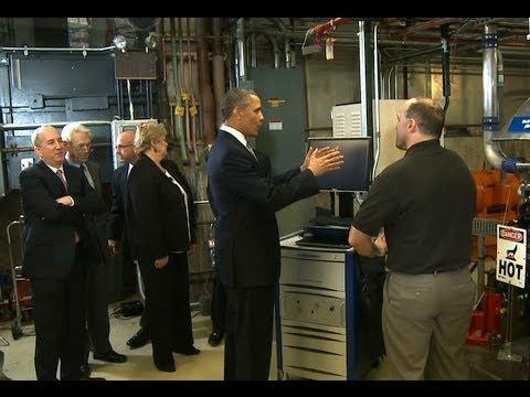 President Obama Tours Argonne National Laboratory    3/16/13   (white house)