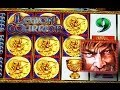 Legion Warrior *BIG WIN* - *NEW* - Slot Machine Bonus Action Stacked - Konami