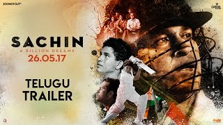 Sachin A Billion Dreams Official Telugu Trailer