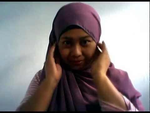 Cara Memakai Jilbab Segi Empat | Jilbab Simple