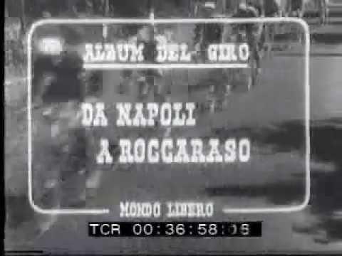 1952; il Giro d'Italia passa in Molise