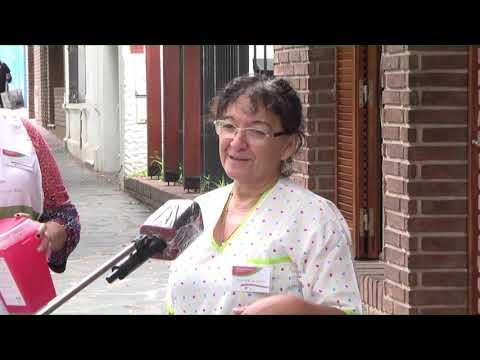 Campaña antigripal: Agentes de salud vacunan casa por casa en la zona centro
