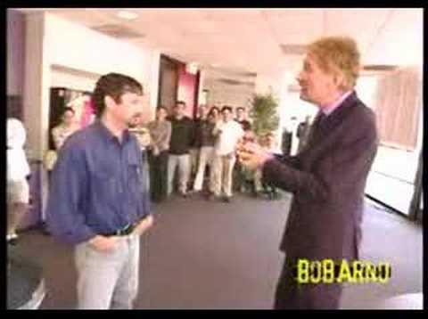 Bob Arno, world-s fastest-fingered pickpocket