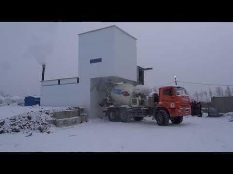 Зимний бетонный завод Рифей-Бетон-Зима-45