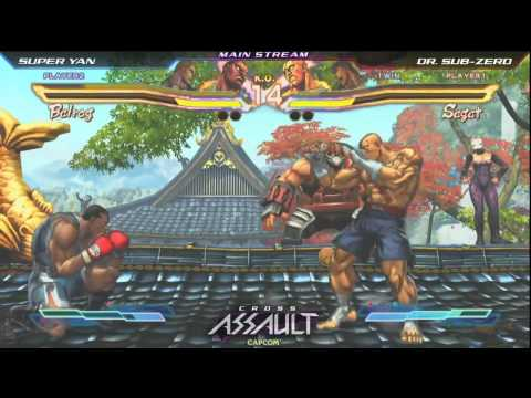 Dr. Sub Zero vs SuperYan - Cross Assault - Day 1 Team Challenge Match - SFXT