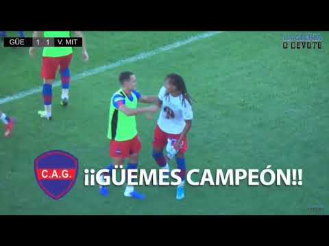 Güemes de Santiago del Estero logró el ascenso a la Primera Nacional