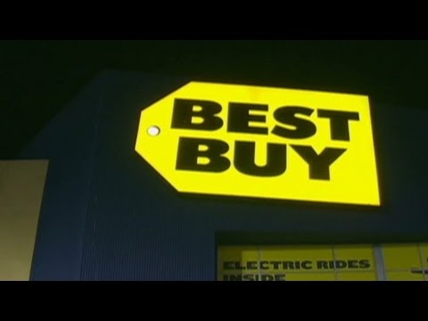 Best Buy sales flat. That's good news?