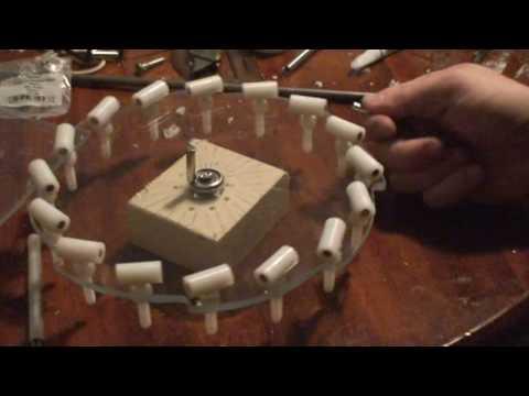 Magnet motor, free energy test 1
