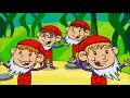 Piosenki dla dzieci ZESTAW HITÓW Jesteśmy jagódki, Krasnoludki i Jedzie pociąg BZYK.tv