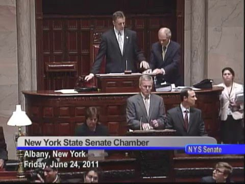 New York State Senate Session - 06/24/11
