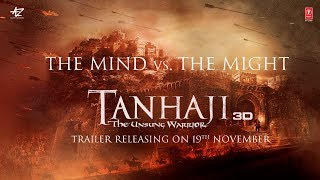 Tanhaji -The Unsung Warrior | The Mind vs. The Might