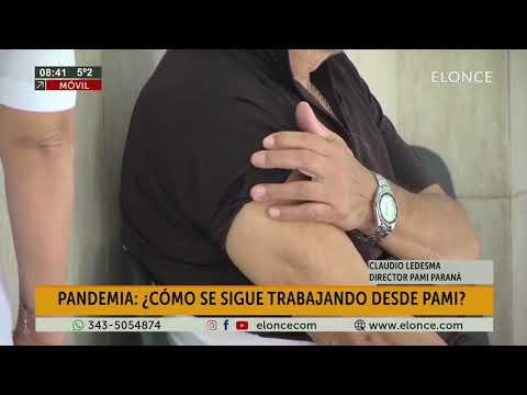 Pami recibió nuevas dosis de vacuna antigripal