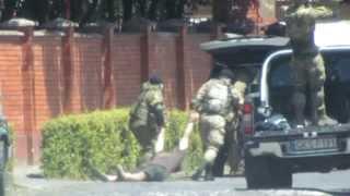 Правый сектор в Мукачево: оперативное видео стрельбы