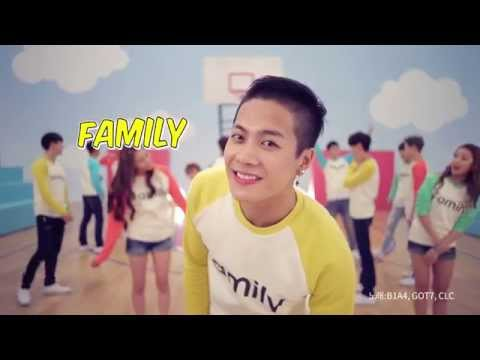 Family (Smart promote awareness of a 'Family Love Day') [with GOT7 & CLC]