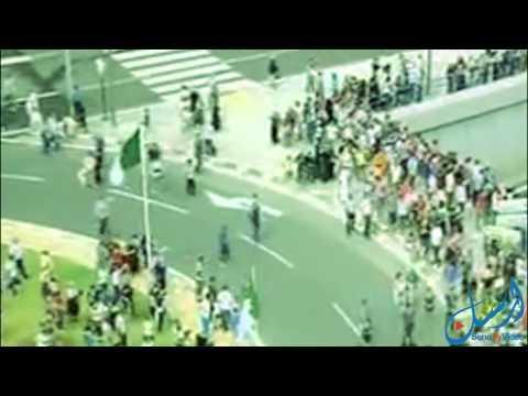 فيديو: استقبال المنتخب الجزائري بعد عودته من مونديال البرازيل