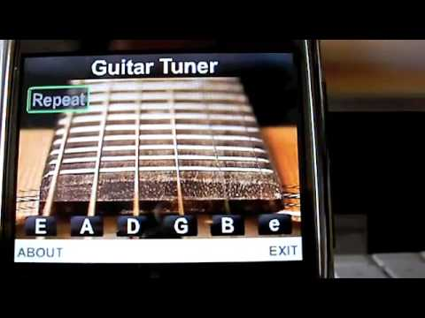 Nokia Guitar Tuner Application