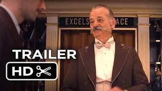 The Grand Budapest Hotel Official Trailer (2014) - Wes Anderson Movie HD