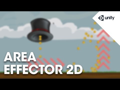 Unity 5 - 2D Physics: Area Effector 2D