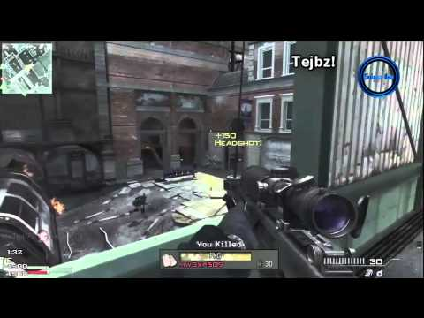 Call of Duty: Modern Warfare 3 - Sniper Gameplay! - UMP & Barrett Multiplayer (COD MW3)