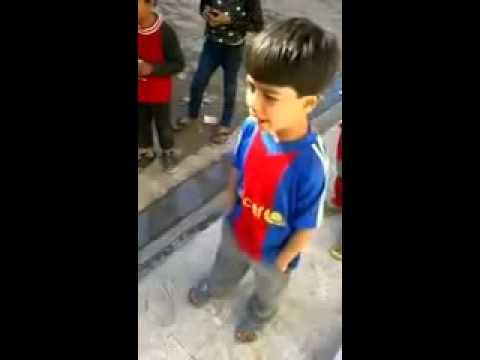 بالفيديو طفل يقلد عصام الشوالي بطريقة ظريفة