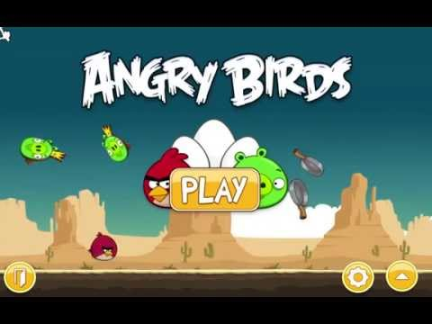 Angry Birds - Mac Game Level 12-12 Golden Egg Walkthrough
