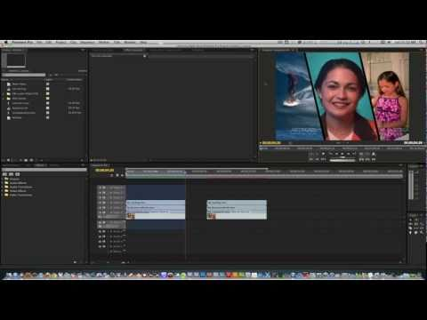 Premiere Pro Cool Effect Tutorial #1: Diagonal Split Screen