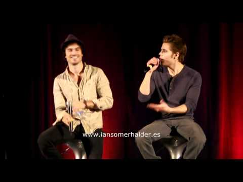 11/06/2011 'Bloody Night Con' (Bcn) Panel Ian & Paul parte 3