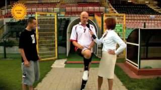 Teatr Montownia - Wywiad z piłkarzem