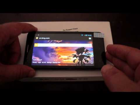 Amoi A862w quad core 1.2Ghz Phone Antutu + Unboxing + In-depth Review