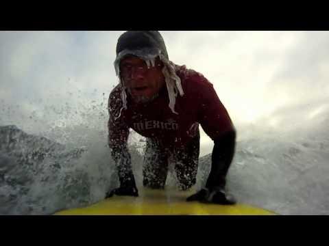 Super Frozen - Lake Superior Surf Short using GoPro HD #superfrozen by Ryan Patin