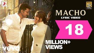 Mersal - Macho Tamil Lyric Video  Vijay, Kajal Aggarwal  A R Rahman  Atlee