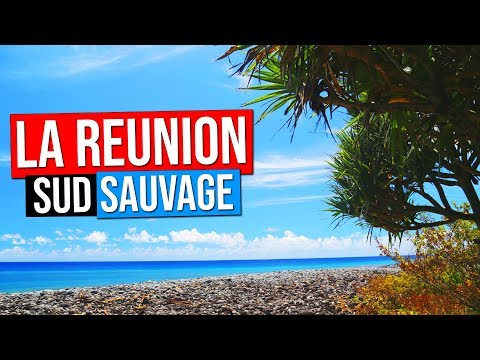 ILE DE LA REUNION 974 - LE SUD SAUVAGE ET L'OUEST
